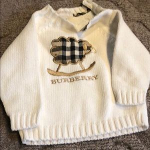Burberry 6 month sweater